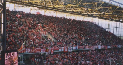 The Kop på besøg i Dortmund UEFA finale 2001