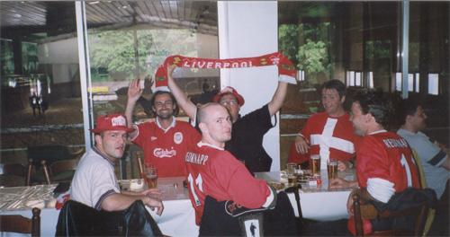 Opvarmning til UEFA finale 2001